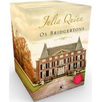 Box Os Bridgertons - 9 Livros + Crônicas da Sociedade De Lady Whistledown + Cadernos de Anotações (Julia Quinn)