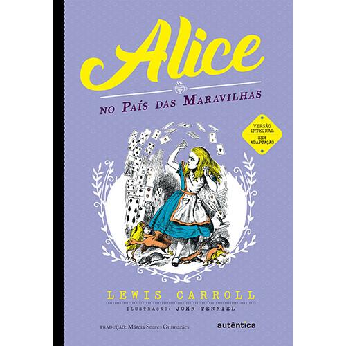 Alice no País das Maravilhas (Lewis Carroll / Márcia Soares Guimarães)