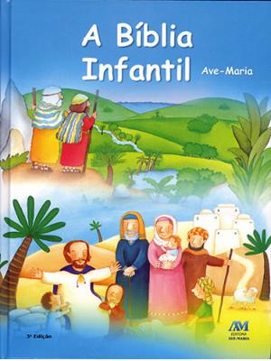 A Bíblia Infantil Ave-Maria – Capa Flexível