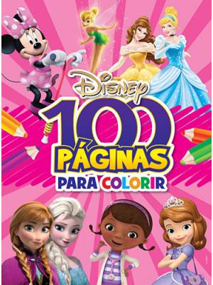 100 Páginas Para Colorir: Disney - Meninas