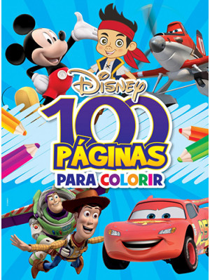 100 Páginas Para Colorir: Disney - Meninos