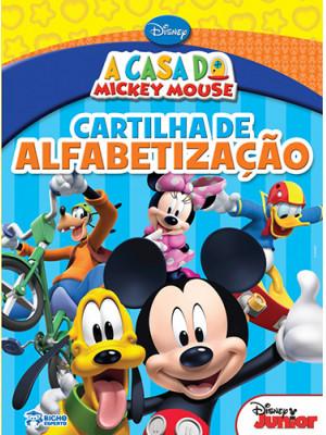 A Casa do Mickey Mouse: Cartilha de Alfabetização