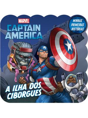 Minhas Primeiras Histórias: Captain America - A Ilha dos Ciborgues