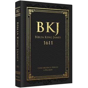 Bíblia King James 1611 Com Concordância - Luxo - Preta (King James)
