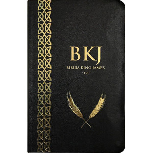 Bíblia King James - 1611 - Ultrafina - Preta (King James)