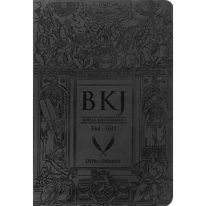 Bíblia King James - Fiel - 1611 - Ultra Gigante – Preta (King James)