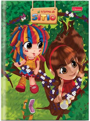 Caderno Brochurão Capa Dura - 96 Folhas - A Turma do Sítio 2