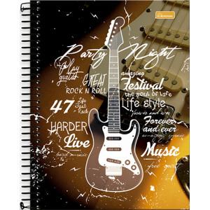 Caderno Universitário - 12 Matérias - Four Young 4