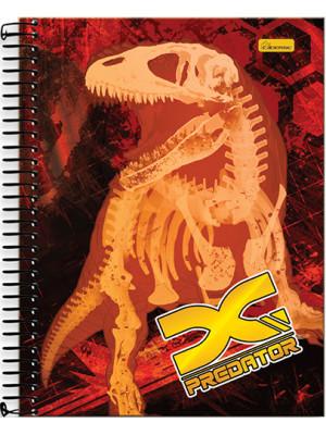 Caderno Universitário - 12 Matérias – X-Predator 1