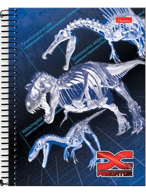 Caderno Universitário - 12 Matérias - X-Predator 2