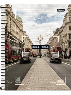 Caderno Universitário - 15 Matérias – Cool Trip 2