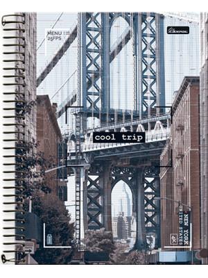 Caderno Universitário - 15 Matérias – Cool Trip 3
