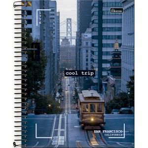 Caderno Universitário - 15 Matérias – Cool Trip 4
