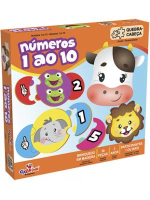 Números 1 ao 10