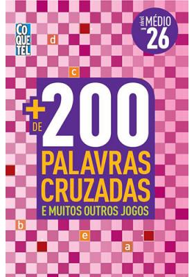 Mais 200 Palavras Cruzadas - Nível Médio - No. 26