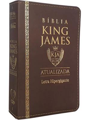 Bíblia King James Atualizada - Letra Ultragigante - Marrom