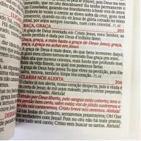 Harpa Avivada e Corinho Fé - Letra Hipergigante - Preta - Capa Dura