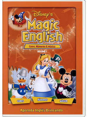 DVD Magic English - Vol. 1: Cores, Números e Música