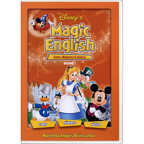 DVD Magic English - Vol. 1: Cores, Números e Música