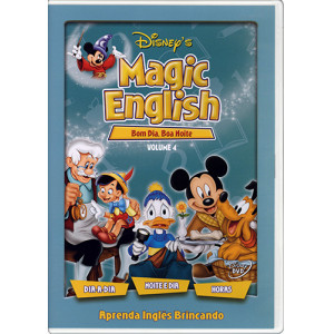 DVD Magic English - Vol. 4: Bom Dia, Boa Noite