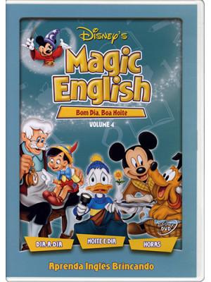 DVD Magic English - Vol. 4: Bom Dia, Boa Noite
