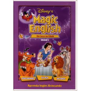 DVD Magic English - Vol. 5: Em Casa e na Cidade