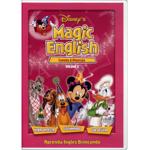 DVD Magic English - Vol. 3: Comida e Diversão