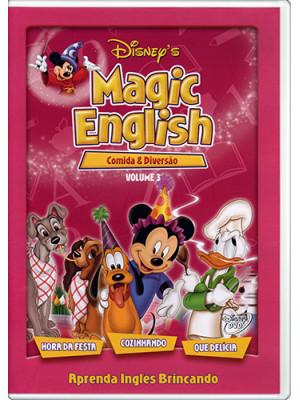 DVD Magic English - Vol. 3: Comida e Diversão