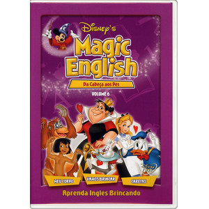 DVD Magic English - Vol. 6: Da Cabeça aos Pés