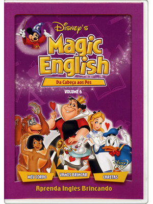 DVD Magic English - Vol. 6: Da Cabeça aos Pés