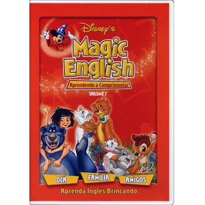 DVD Magic English - Vol. 7: Aprendendo a Cumprimentar