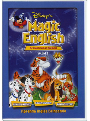 DVD Magic English - Vol. 8: Descobrindo os Animais