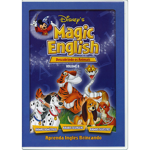 DVD Magic English - Vol. 8: Descobrindo os Animais