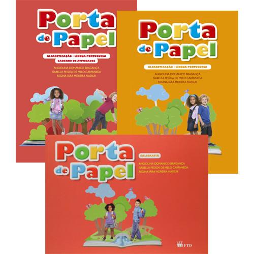 Porta de Papel - Alfabetização - Língua Portuguesa + Atividades
