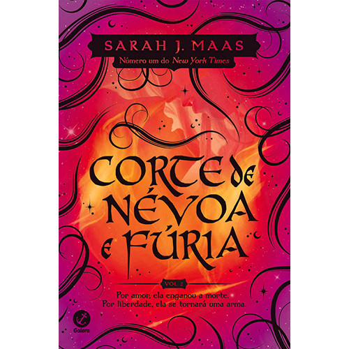 Corte de Espinhos e Rosas - Vol. 2: Corte de Névoa e Fúria (Sarah J. Maas)