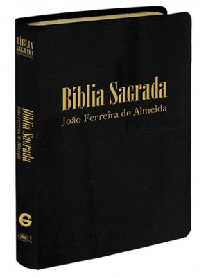 Bíblia Sagrada - Letra Gigante Com Indíce - RC - Luxo - Preta