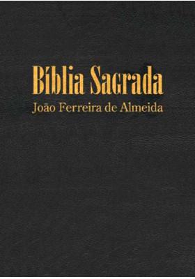 Bíblia Sagrada - Letra Gigante - ARC - Semi Luxo - Preta (João Ferreira de Almeida)