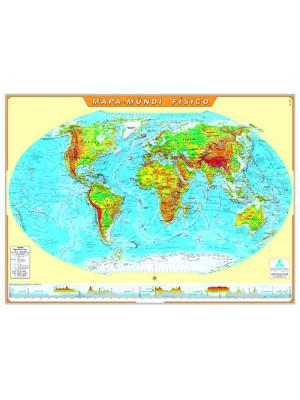 Mapa Geográfico - Mapa-Múndi Físico