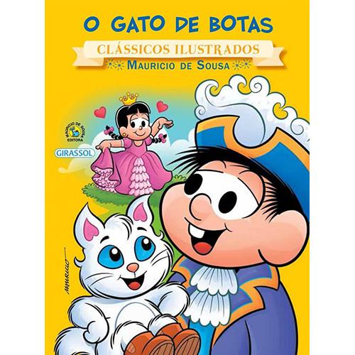 Clássicos Ilustrados - Turma da Mônica: O Gato de Botas