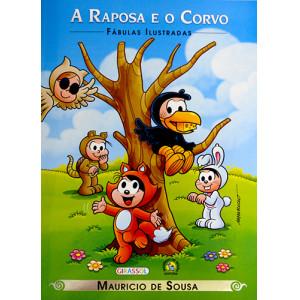 Fábulas Ilustradas - Turma da Mônica: A Raposa e O Corvo