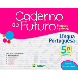 Caderno do Futuro - Língua Portuguesa - 5o. Ano
