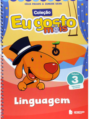 Eu Gosto Mais - Linguagem - Volume 3 (5 Anos)
