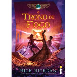As Crônicas dos Kane - Vol. 2: O Trono de Fogo (Rick Riordan)