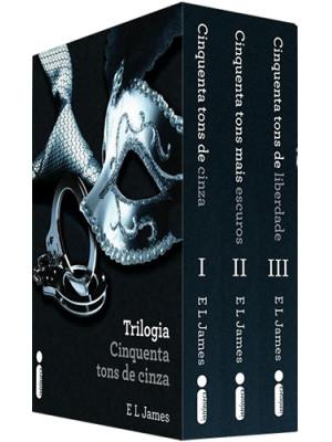Box Cinquenta Tons de Cinza (E. L. James)