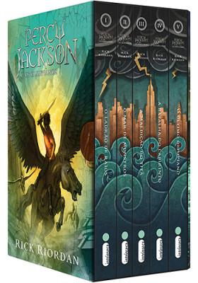 Box Percy Jackson e Os Olimpianos (Rick Riordan)