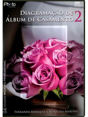 DVD Diagramação de Álbuns de Casamento - Vol. 2