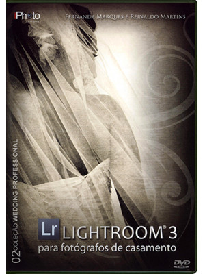 DVD Lightroom 3: Para Fotógrafos de Casamento