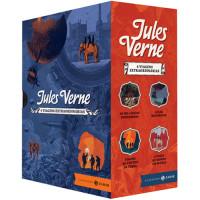Box Viagens Extraordinárias - Edição Comentada e Ilustrada (4 Livros) (Jules Verne)