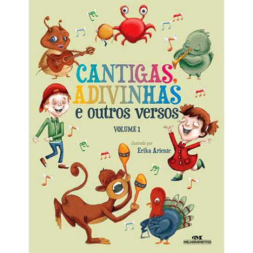 Cantigas, Adivinhas e Outros Versos - Vol. 1 (Érika Ariente)