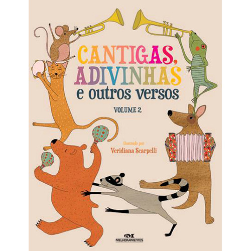 Cantigas, Adivinhas e Outros Versos - Vol. 2 (Érika Ariente)